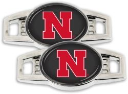 NEBRASKA SHOE CHARM (2-PACK)