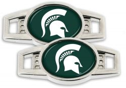 MICHIGAN STATE SHOE CHARM (2-PACK)