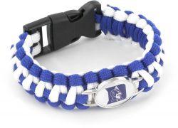 DUKE (BLUE/WHITE) PARACORD BRACELET