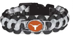 TEXAS (BLACK/WHITE)PARACORD BRACELET