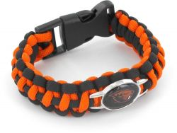 OREGON STATE (BLACK/ ORANGE) PARACORD BRACELET