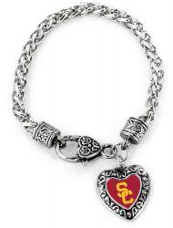 USC HEART BRACELET
