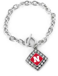 NEBRASKA CRYSTAL DIAMOND BRACELET