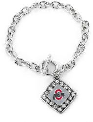OHIO STATE CRYSTAL DIAMOND BRACELET