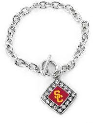 USC CRYSTAL DIAMOND BRACELET