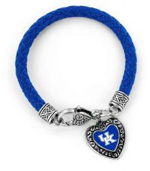 KENTUCKY (BLUE)COLLEGE BRAIDED BRACELET