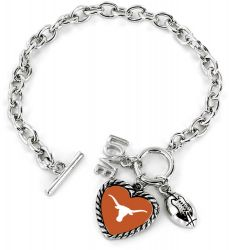 TEXAS LOVE FOOTBALL BRACELET