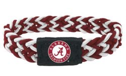 ALABAMA (MAROON/WHITE) STRETCH BRACELET (OC)
