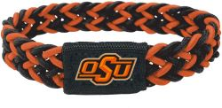 OKLAHOMA STATE (BLACK/ORANGE) STRETCH BRACELET (OC)