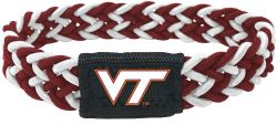 VIRGINIA TECH (MAROON/WHITE) STRETCH BRACELET (OC)