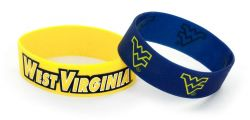 WEST VIRGINIA WIDE BRACELETS (2 PACK)