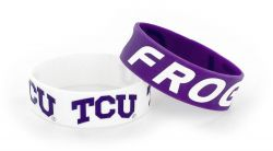 TCU WIDE BRACELETS (2 PACK)