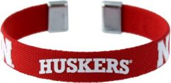 "NEBRASKA 1/2"" RIBBON BRACELET"