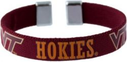 "VIRGINIA TECH 1/2"" RIBBON BRACELET"