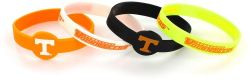 TENNESSEE SILICONE BRACELETS (4 PACK)