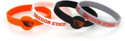 OREGON STATE SILICONE BRACELETS (4 PACK)