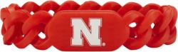 NEBRASKA SILICONE LINKS BRACELET