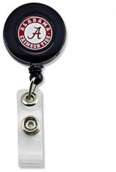 ALABAMA (BLACK) BADGE REEL (NE)