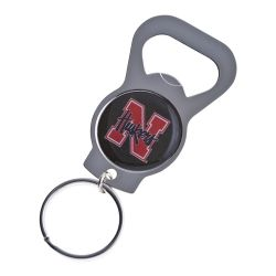 NEBRASKA BOTTLE OPENER KEYCHAIN