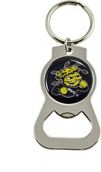 WICHITA STATE BOTTLE OPENER KEYCHAIN