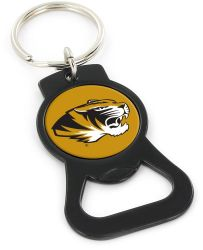 MISSOURI (BLACK) BOTTLE OPENER KEYCHAIN