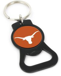 TEXAS (BLACK) BOTTLE OPENER KEYCHAIN
