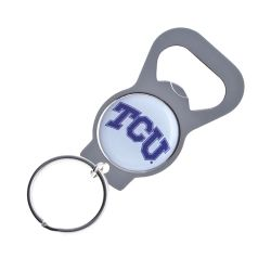 TCU BOTTLE OPENER KEYCHAIN