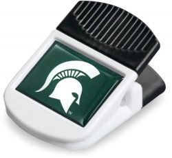 MICHIGAN STATE MAGNETIC RECTANGULAR CHIP CLIP