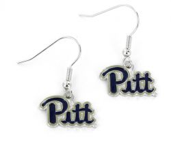 PITTSBURGH COLLEGE DANGLER EARRINGS