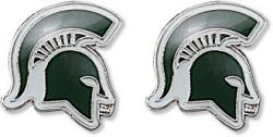 MICHIGAN STATE TEAM POST EARRINGS