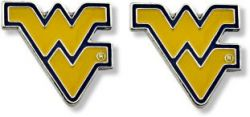 WEST VIRGINIA TEAM POST EARRINGS