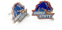 BOISE STATE TEAM POST EARRINGS