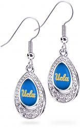 UCLA CRYSTAL TEARDROP EARRINGS (OC)