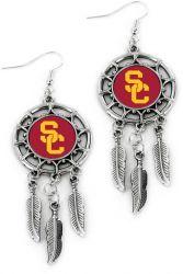 USC DREAM CATCHER EARRINGS