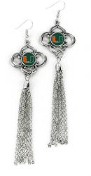 MIAMI CHARMED TASSEL EARRINGS