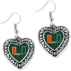 MIAMI HEART EARRINGS