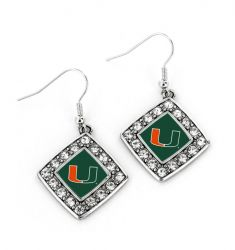 MIAMI CRYSTAL DIAMOND EARRINGS
