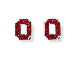 OHIO STATE GLITTER POST EARRINGS