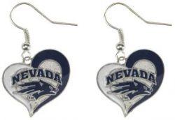 NEVADA RENO SWIRL HEART EARRINGS