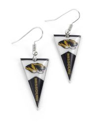 MISSOURI PENNANT EARRINGS