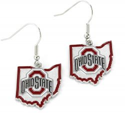 OHIO STATE - STATE DESIGN EARRINGS