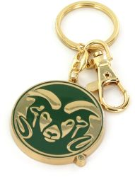 COLORADO STATE HEAVYWEIGHT KEYCHAIN