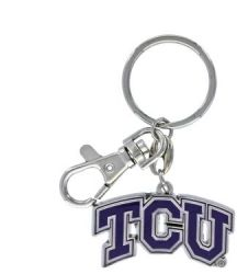 TCU HEAVYWEIGHT KEYCHAIN