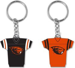 OREGON STATE REVERSIBLE HOME/AWAY JERSEY KEYCHAIN