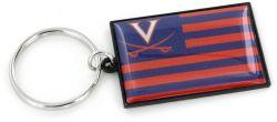 VIRGINIA AMERICANA FLAG KEYCHAIN