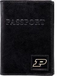 PURDUE RFID LEATHER PASSPORT COVER (OC)