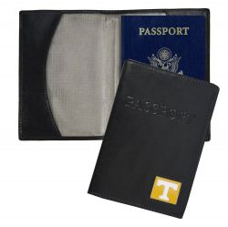 TENNESSEE RFID LEATHER PASSPORT COVER (OC)