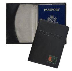 MIAMI RFID LEATHER PASSPORT COVER (OC)