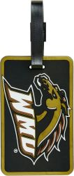WESTERN MICHIGAN SOFT BAG TAG