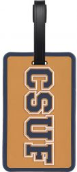 CSU FULLERTON SOFT BAG TAG